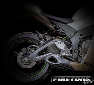 Ponteira Escapamento Esportivo   Firetong  Ninja  ZX-10R (2012 - 2015)