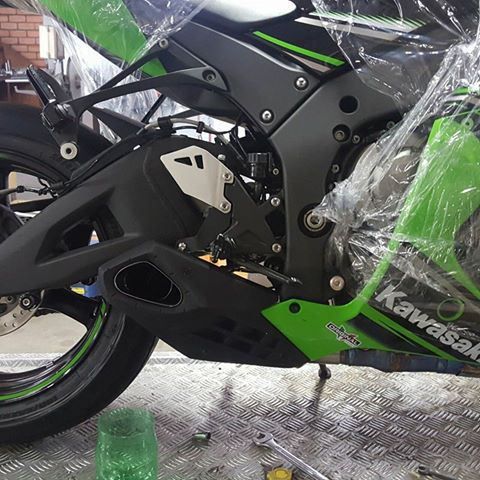 Ponteira Escapamento Esportivo | Firetong |Ninja  ZX-10R (2017)