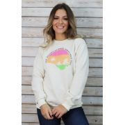 Blusa Moletom Careca Sunset