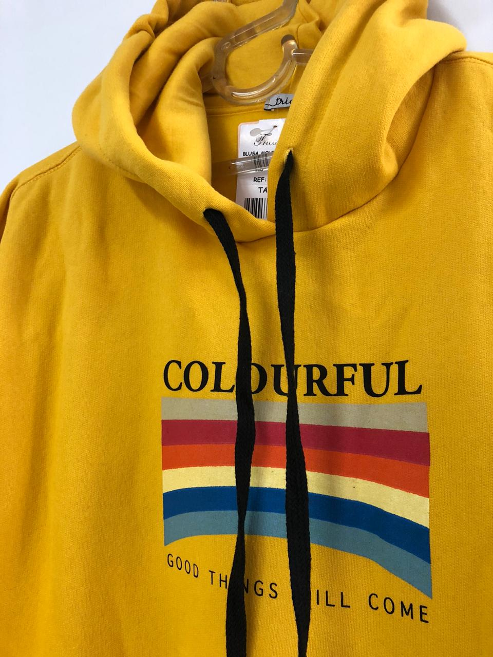 Blusa de Molecoton Oversize Colourful