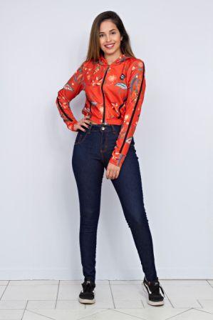Jaqueta Estampada Ethinic Batik