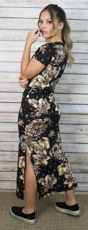 Vestido Midi Floral With Love V.A