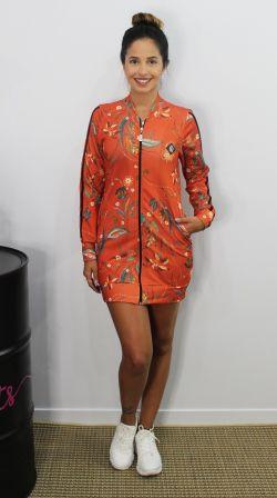 Vestido Zíper Ethinic Batik