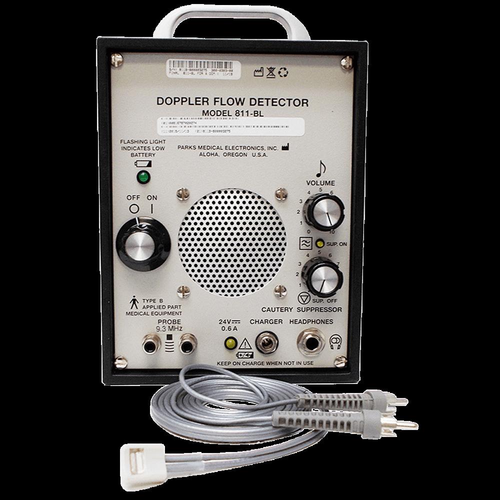 Doppler Vascular marca Parks Medical - modelo 811-BL com supressor de cautério Uso Veterinário