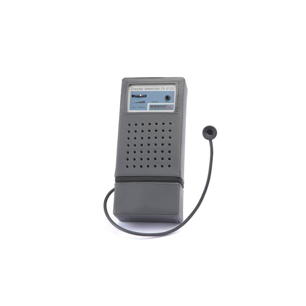 Doppler Vascular Veterinário Portátil marca Medmega - modelo DV 610V