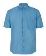Camisa Social Masculina Passa Fácil - Azul