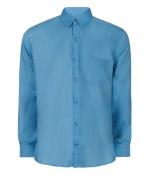 Camisa Social Masculina Tricoline Manga Longa em varias cores