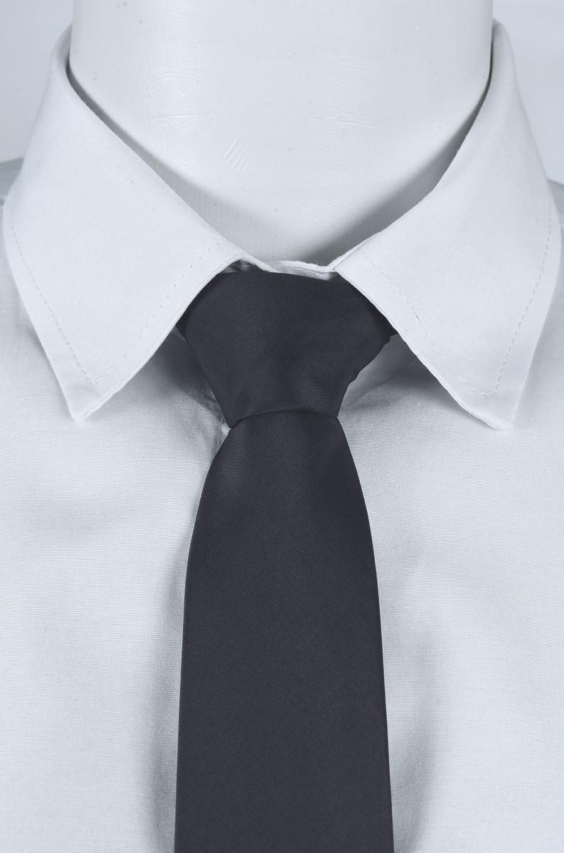 Gravata Social Masculino na cor Chumbo