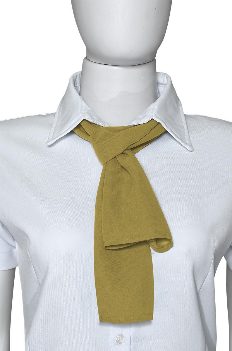 Lenço Feminino na Cor Amarelo