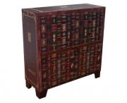 Cômoda Armário Baixo Livros 80 x 30 x 81 cm