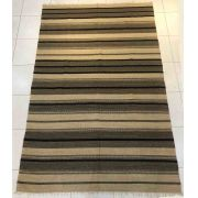 Tapete Kilim Cotton 80 x 120 cm - Natural