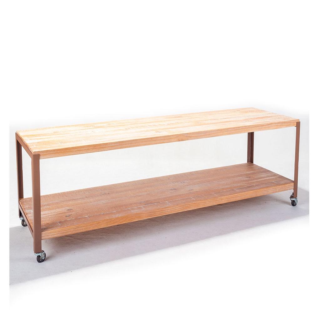 Aparador para TV Bridge - Driftwood/Cobre