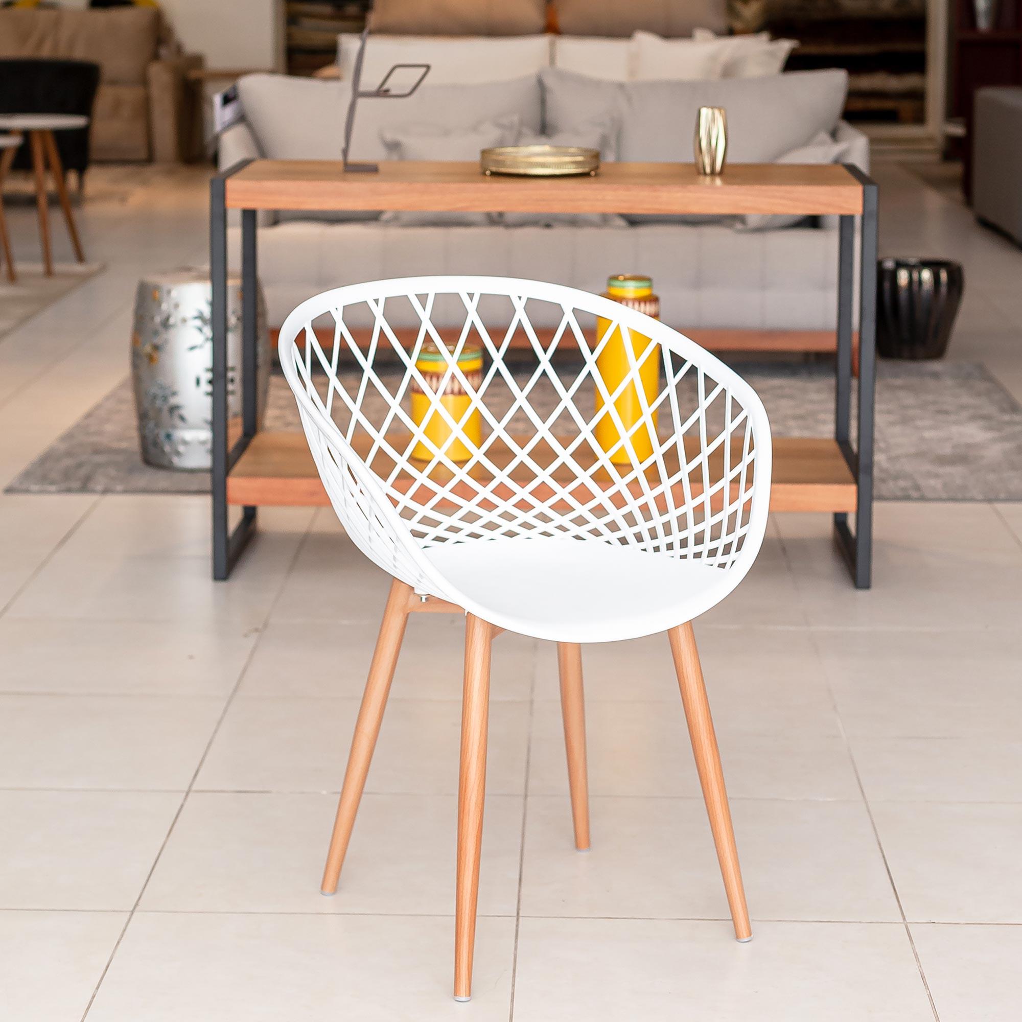 Cadeira Clarice RVT - Branca