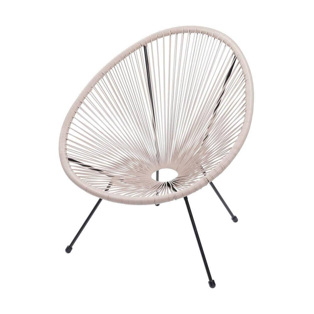 Cadeira com Corda PVC - Fendi