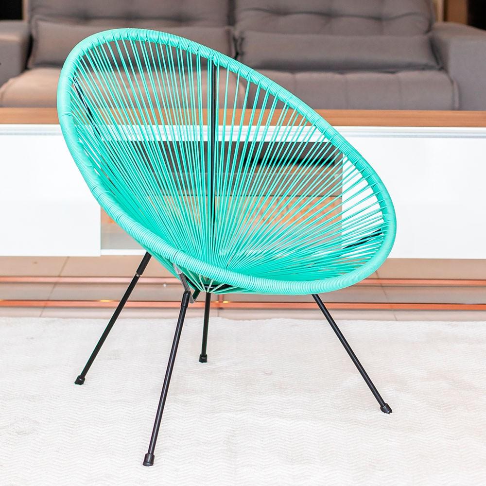 Cadeira com Corda PVC - Tiffany