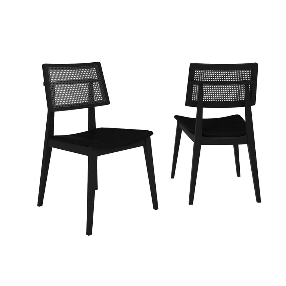 Cadeira Copacabana - Preto