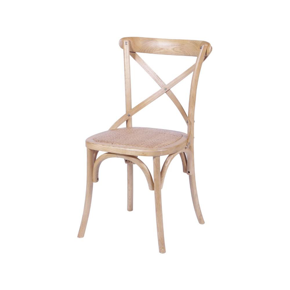 Cadeira Crusade - Madeira Clara