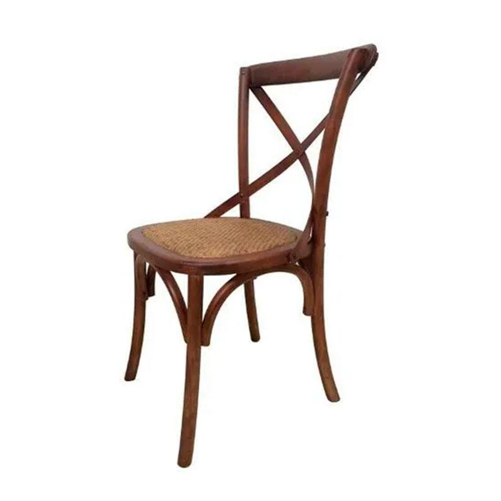 Cadeira Crusade Madeira Escura