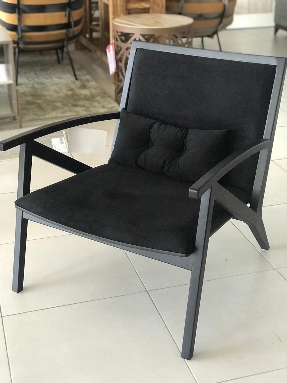 Cadeira Denalli - Preto