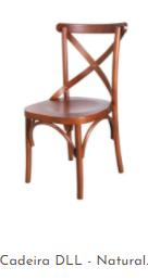 Cadeira DLL - Natural.