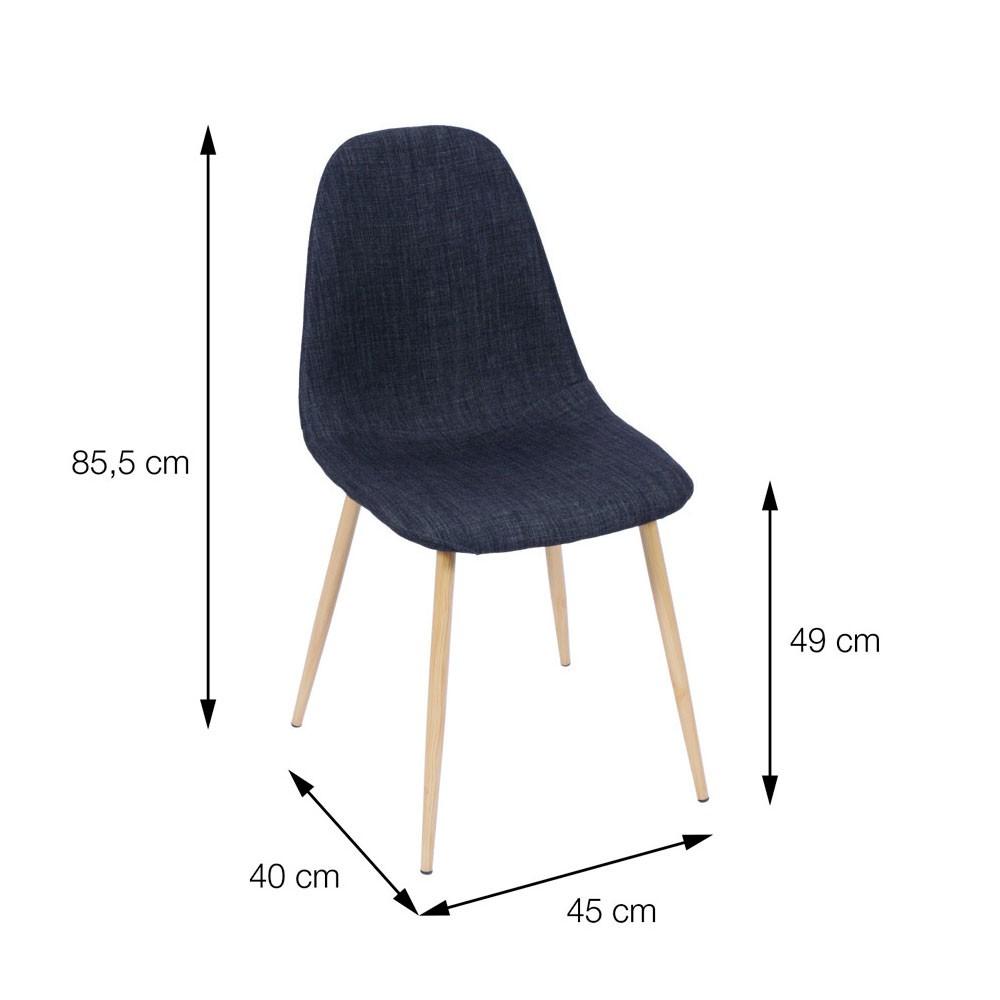 Cadeira em Linho Carla - Bege
