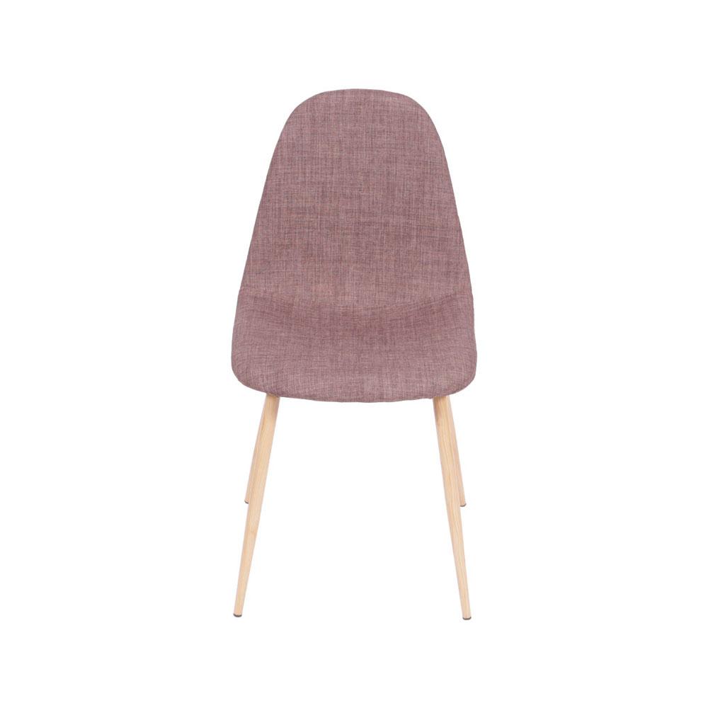 Cadeira em Linho Carla - Marrom