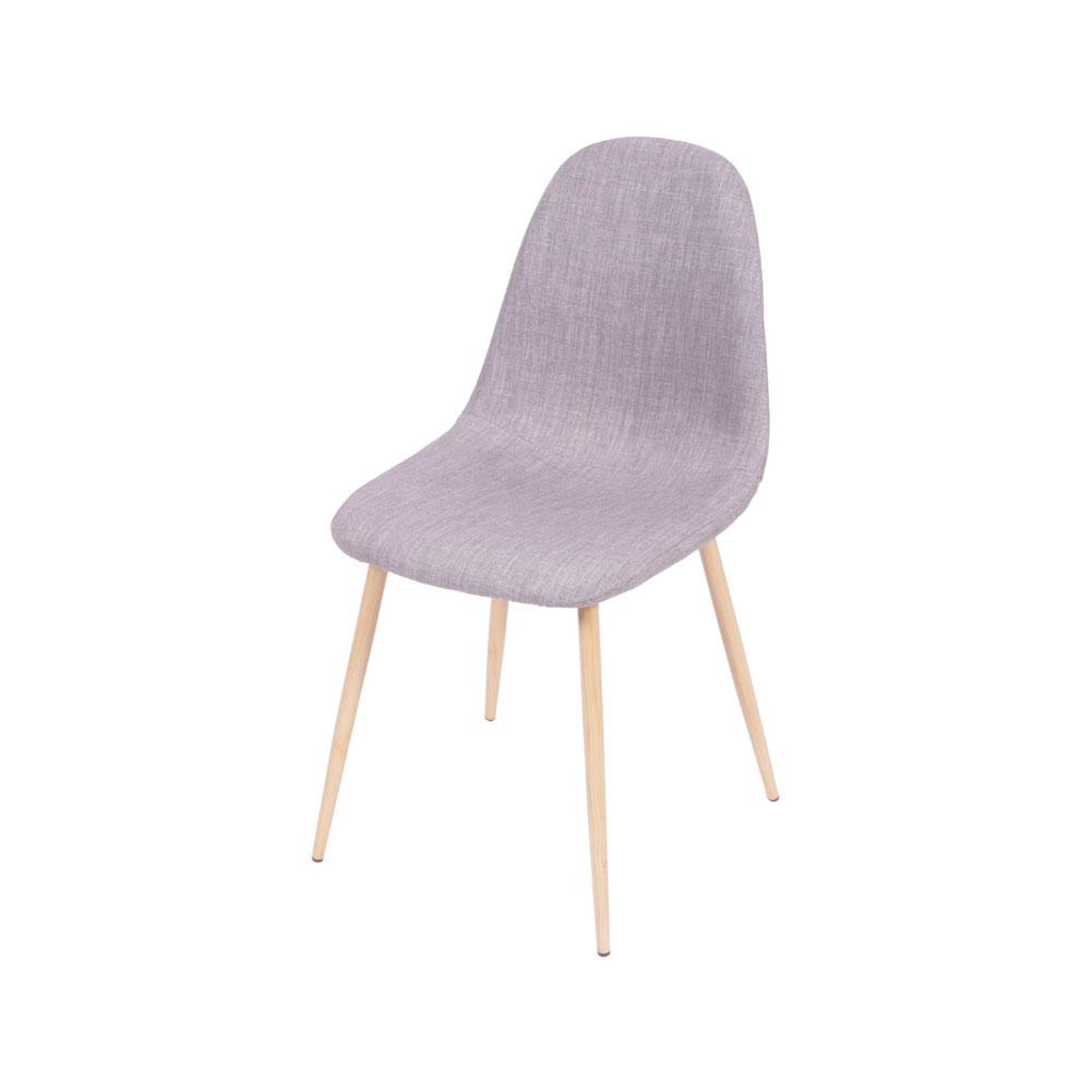 Cadeira em Linho Charla - Cinza