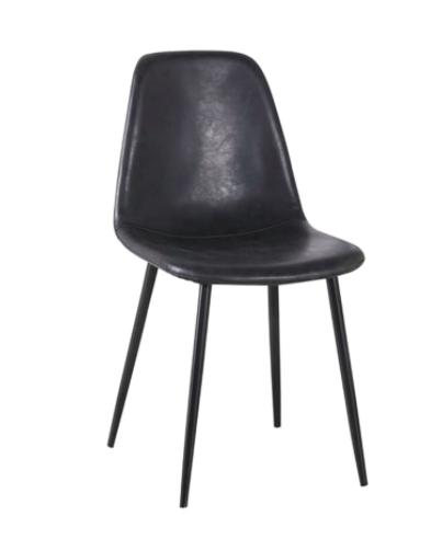 Cadeira em PU Eiffel Industrial