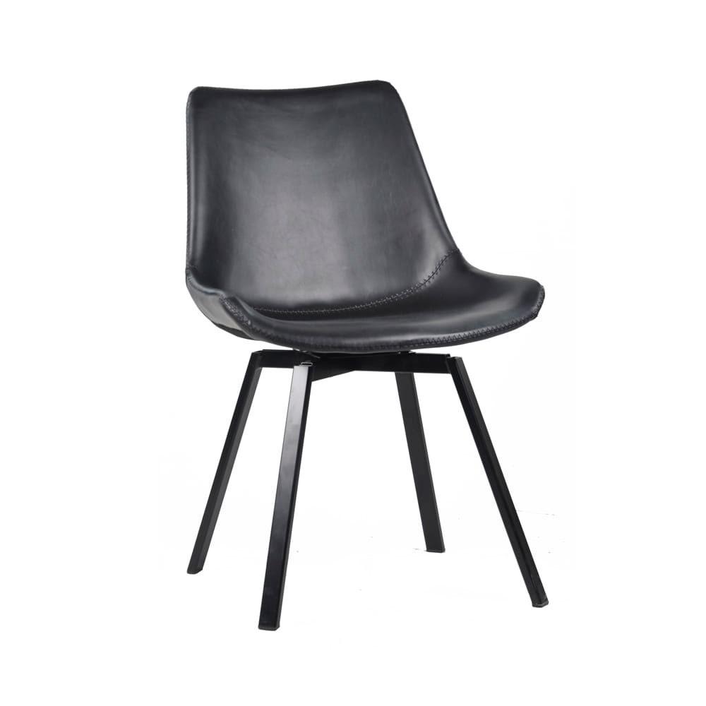 Cadeira em PU Giratória Industrial