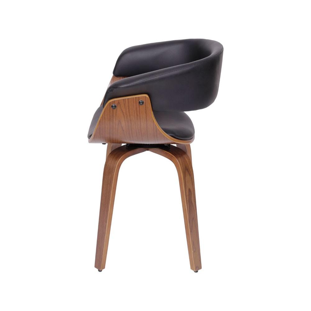 Cadeira Giratória Elba - Preta