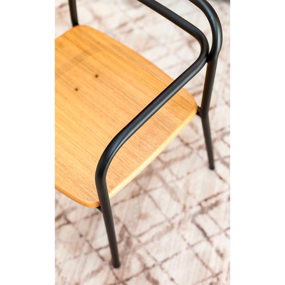 Cadeira Industrial Wood