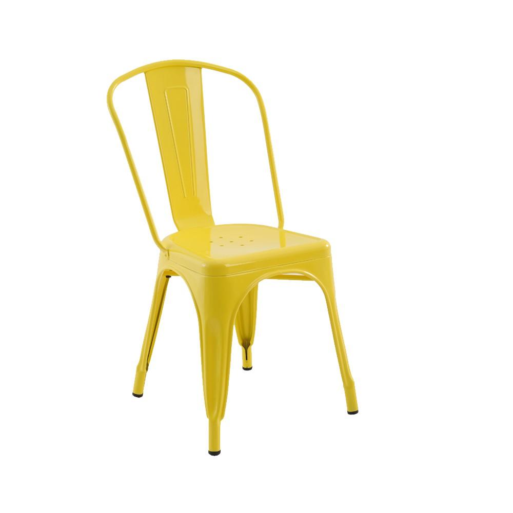 Cadeira Iron - Amarela.