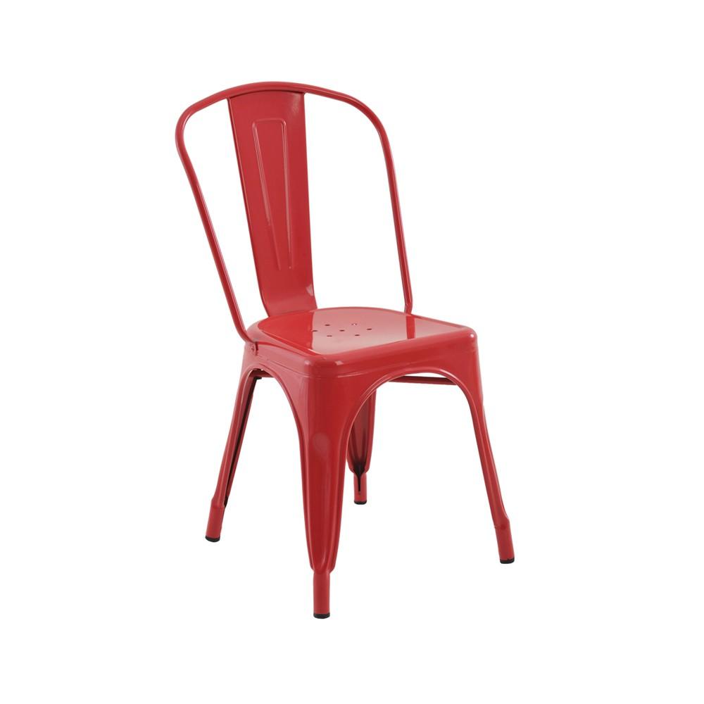 Cadeira Iron - Vermelha