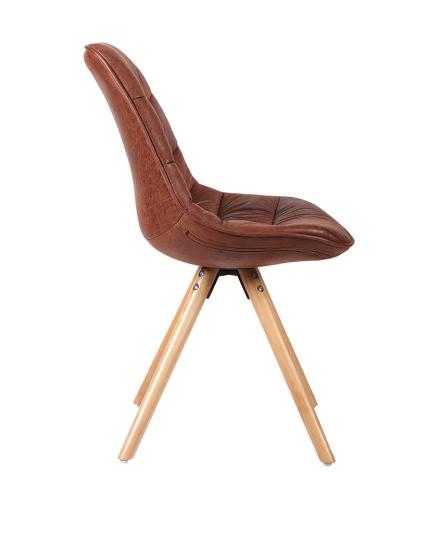 Cadeira Luci Marrom  Envelhecido - Rivatti