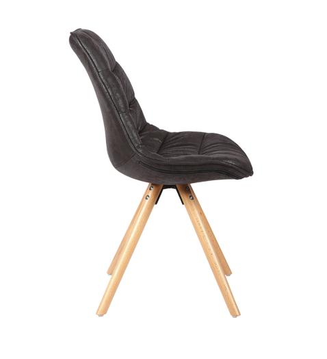 Cadeira Luci Preta - Rivatti