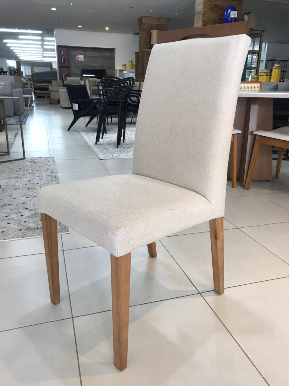 Cadeira Niruma c/ Alça - linho Cru