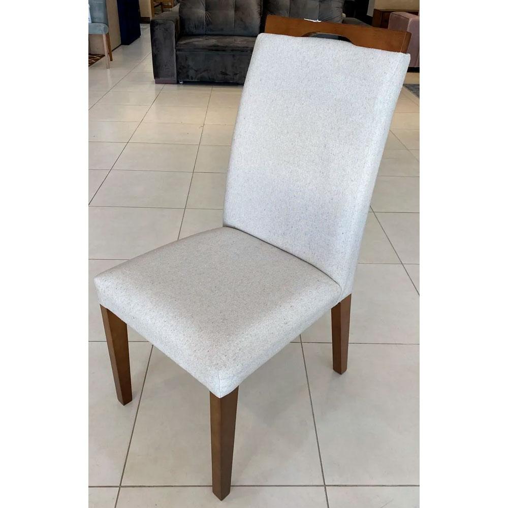 Cadeira Niruma Magnum - Linho Cru
