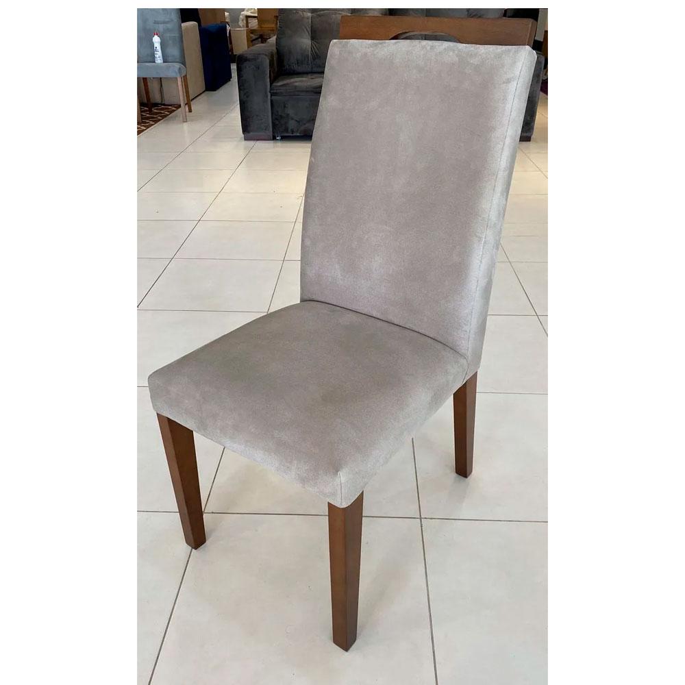 Cadeira Niruma Magnum - Suede Bege