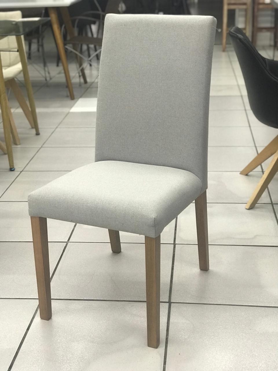 Cadeira Niruma - s/Alça - Linho Cinza