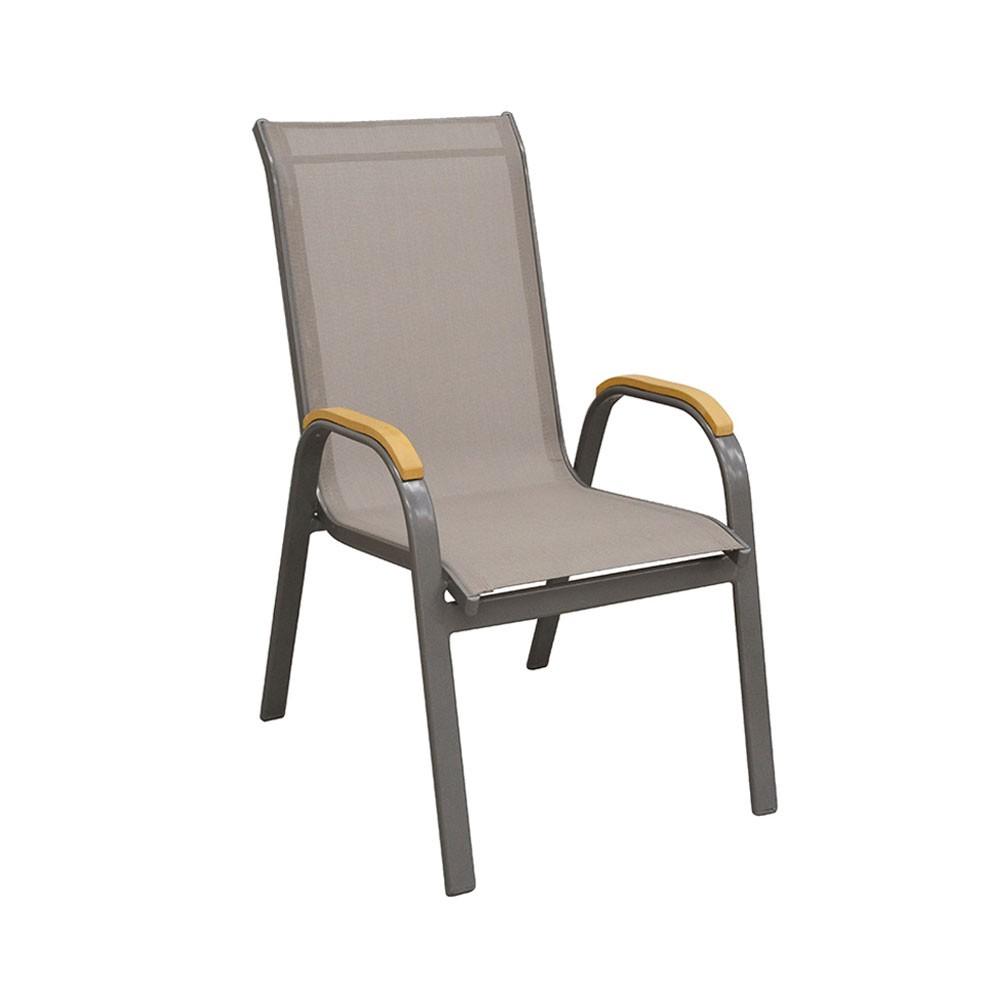 Cadeira Piscina - Amêndoa.