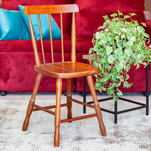 Cadeira Rústica Angelim - Mel.