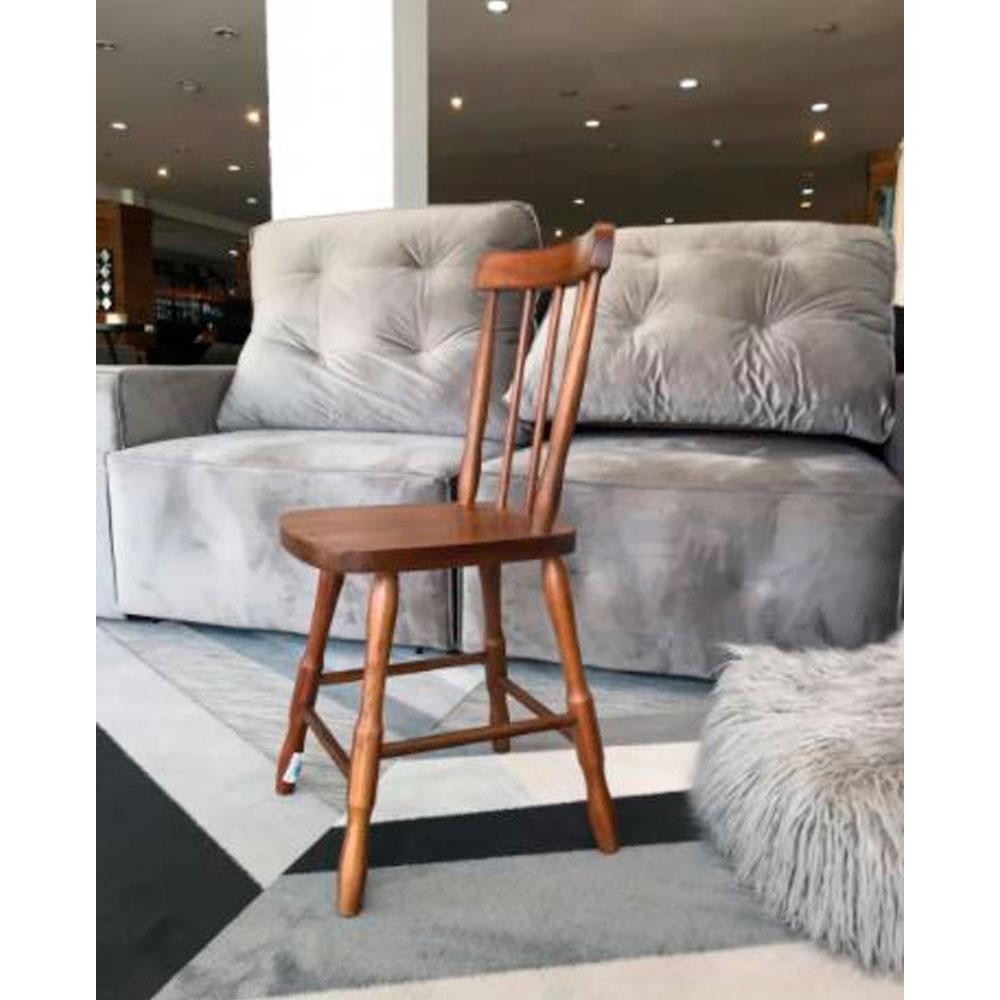 Cadeira Rústica Angelim - Mel Fosco