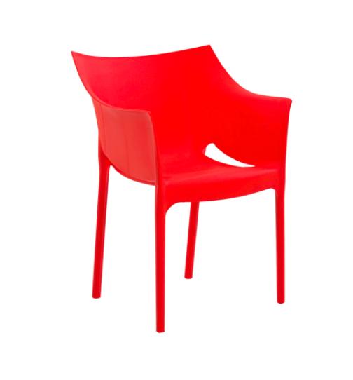 Cadeira Taís Vermelha - Rivatti