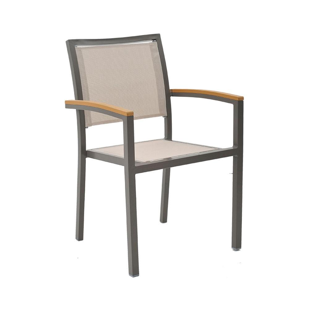 Cadeira Tela - Amêndoa.