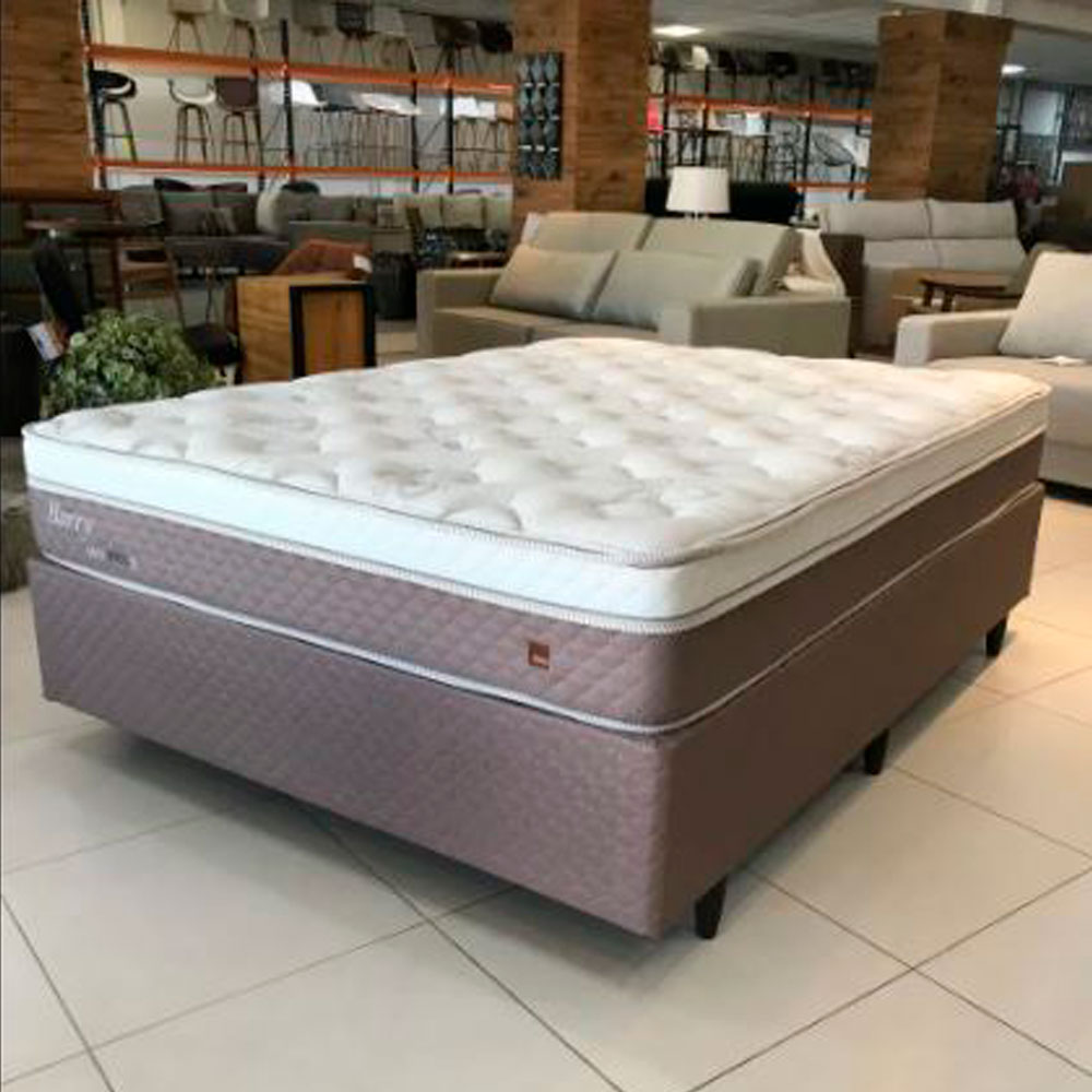 Conjunto Cama Box Barry 1,38 x 1,88 x 0,63 - Herval