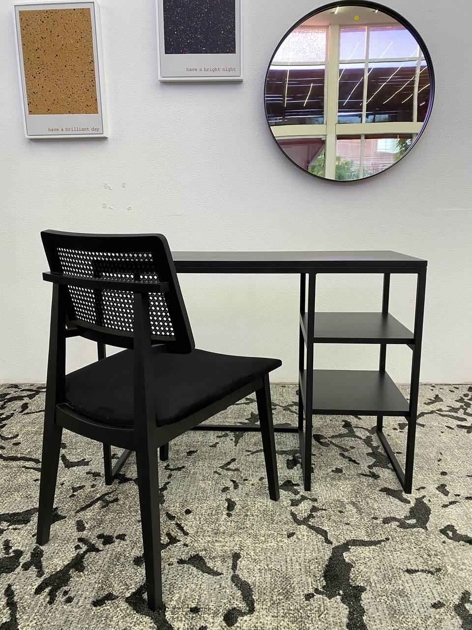 Escrivaninha Industrial Prateleiras 100 x 45 cm