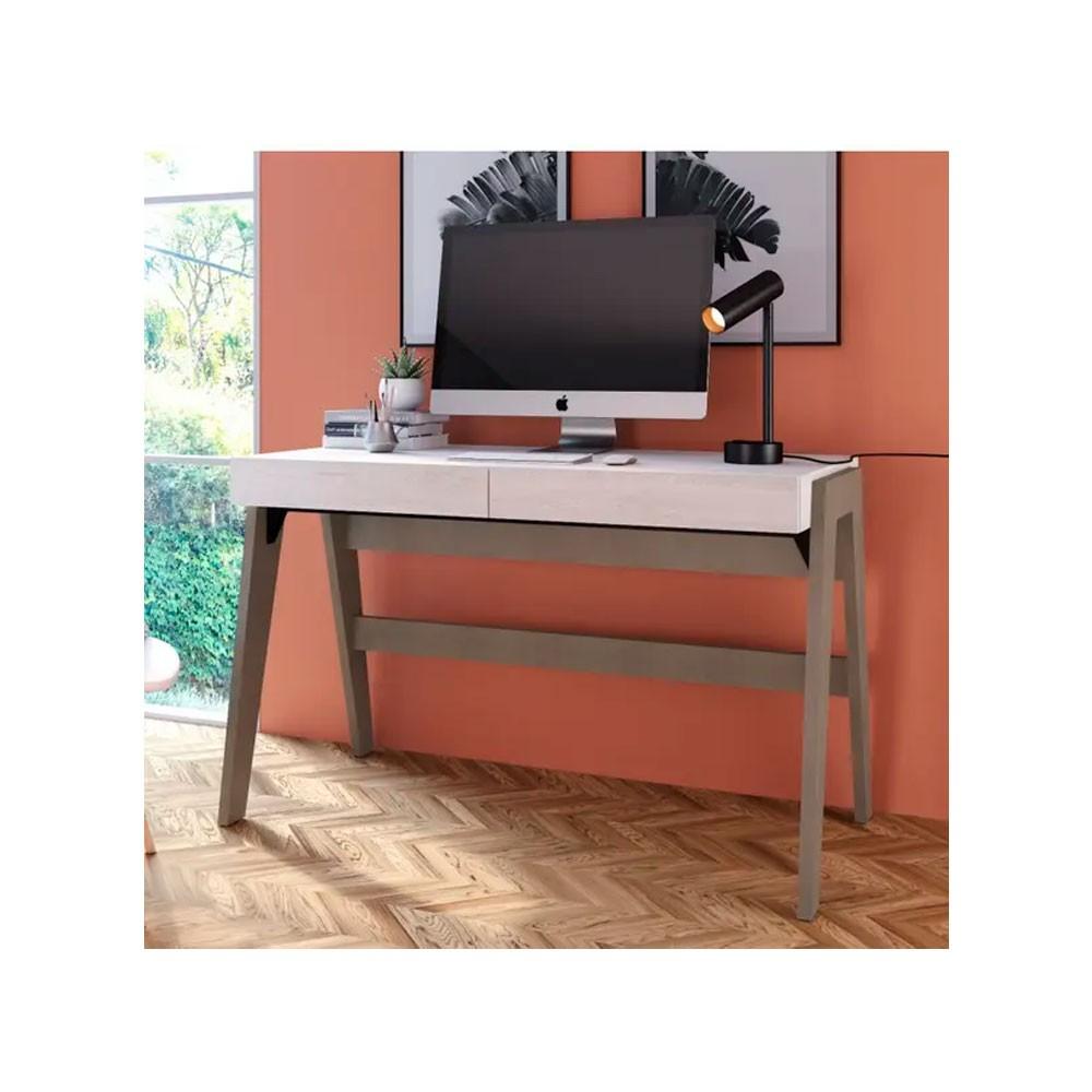 Escrivaninha Trend Canela/Nordic - 120x60