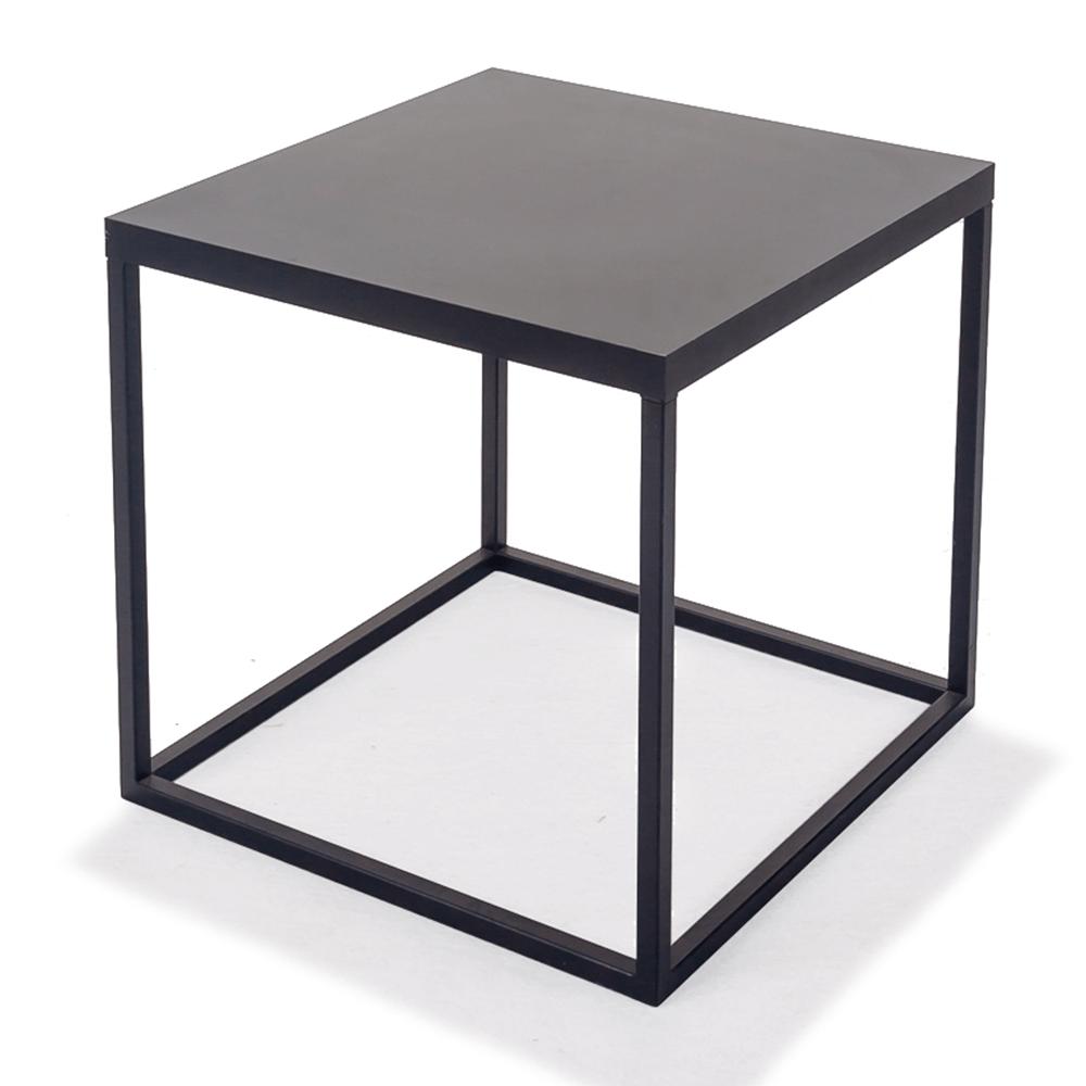 Mesa Cubo P - Grafite/Preto