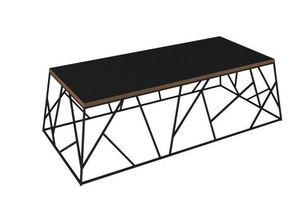 Mesa de Centro Spider - Preto