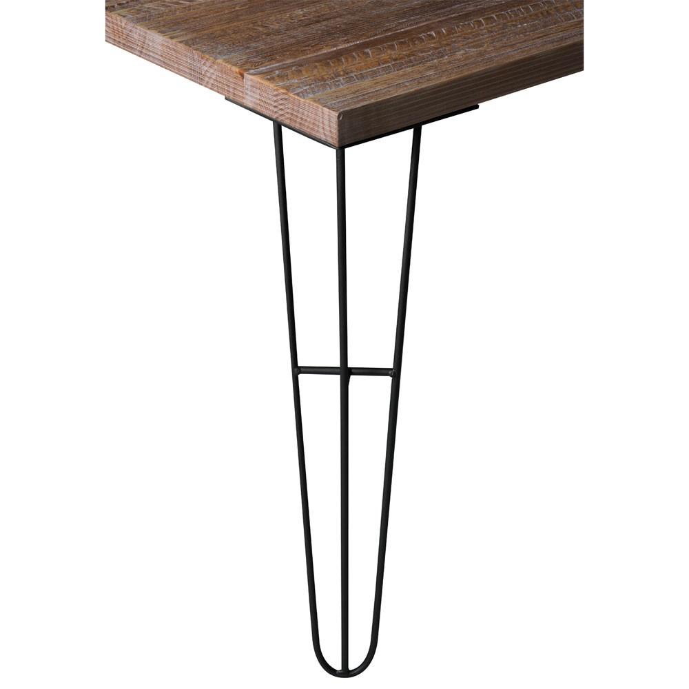 Mesa de Jantar Industrial Mercer Rústica - 160x90